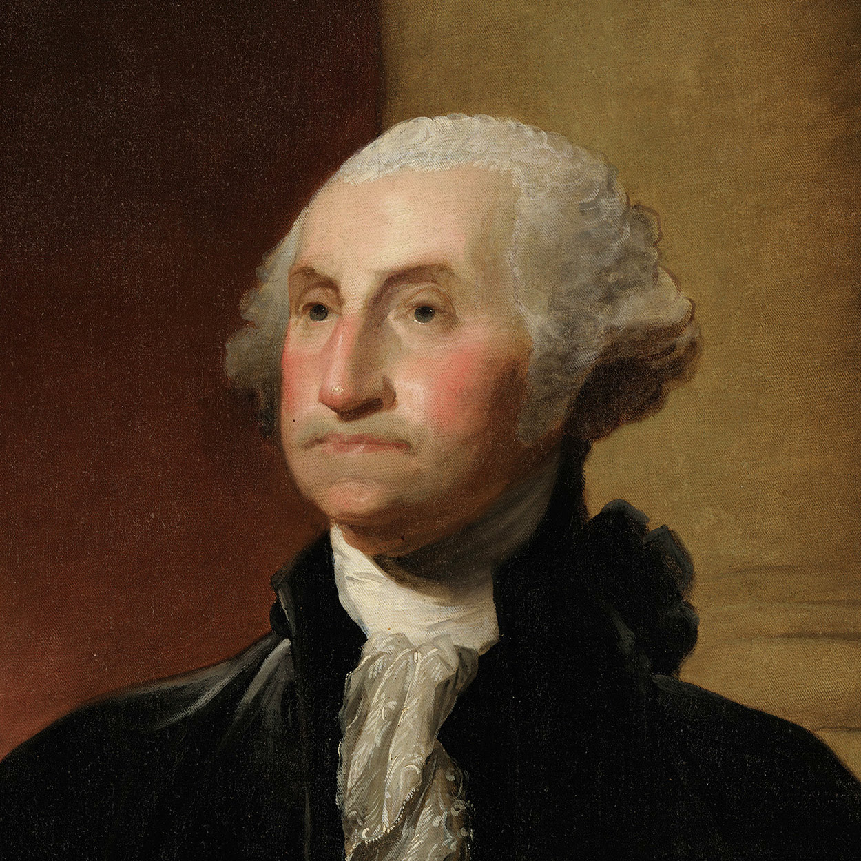 Portrait of George Washington, the 1st President of the United States