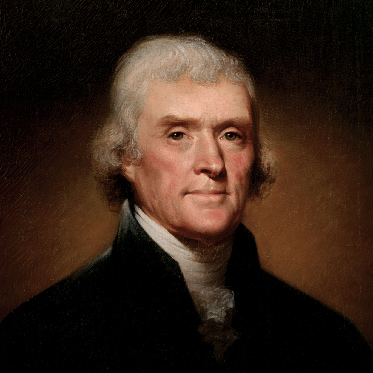 Portrait of Thomas Jefferson, the 3rd President of the United States