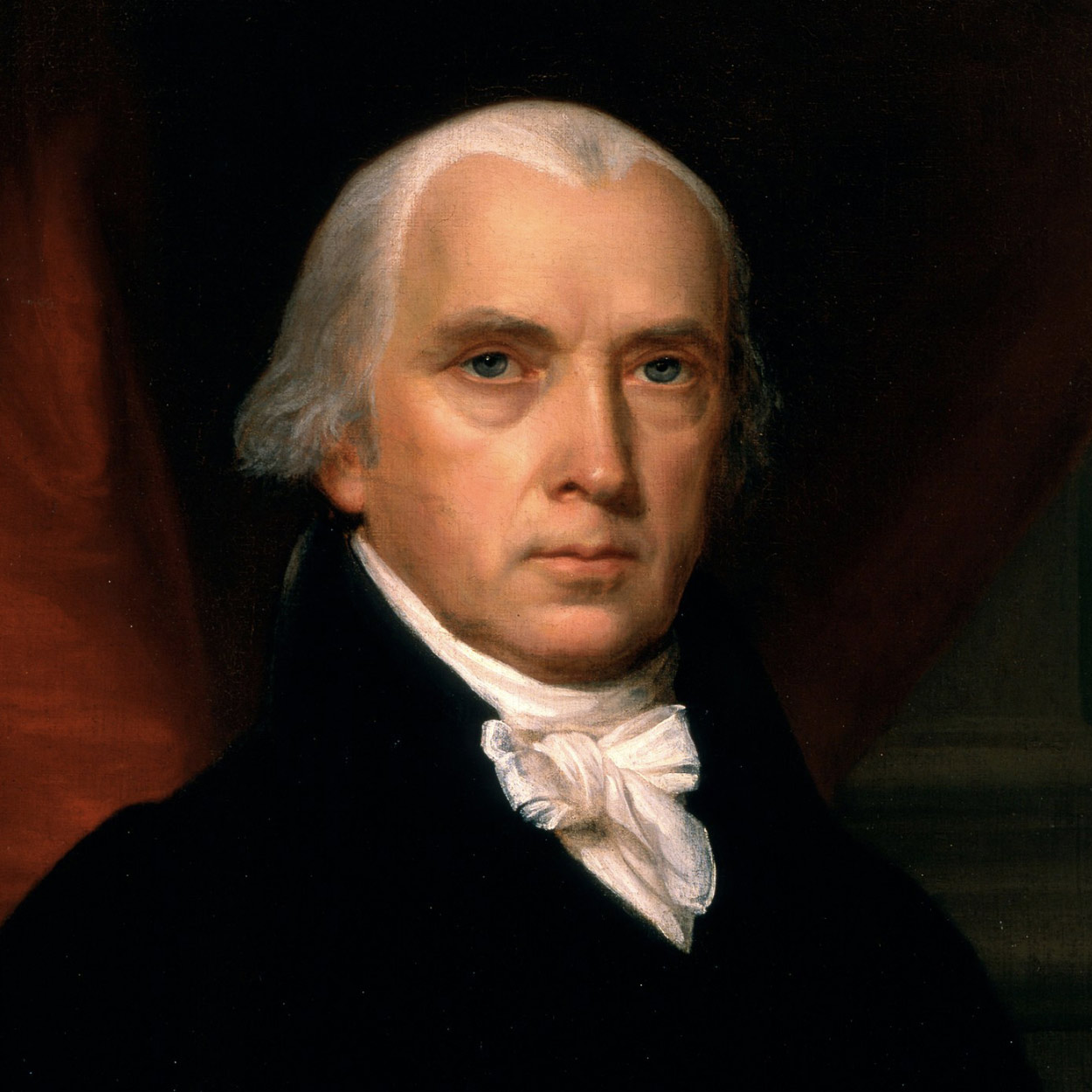 Portrait of James Madison, the 4th President of the United States