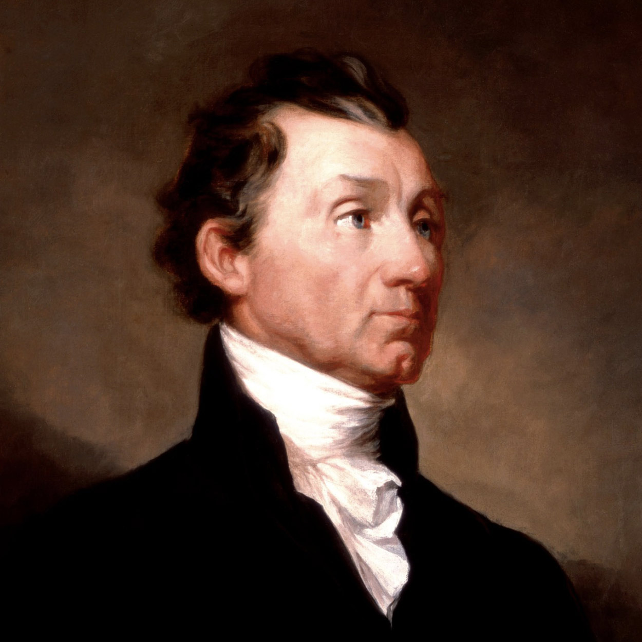 Portrait of James Monroe, the 5th President of the United States