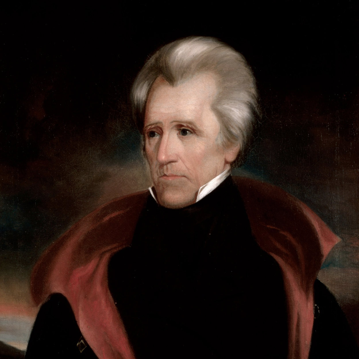 Portrait of Andrew Jackson, the 7th President of the United States
