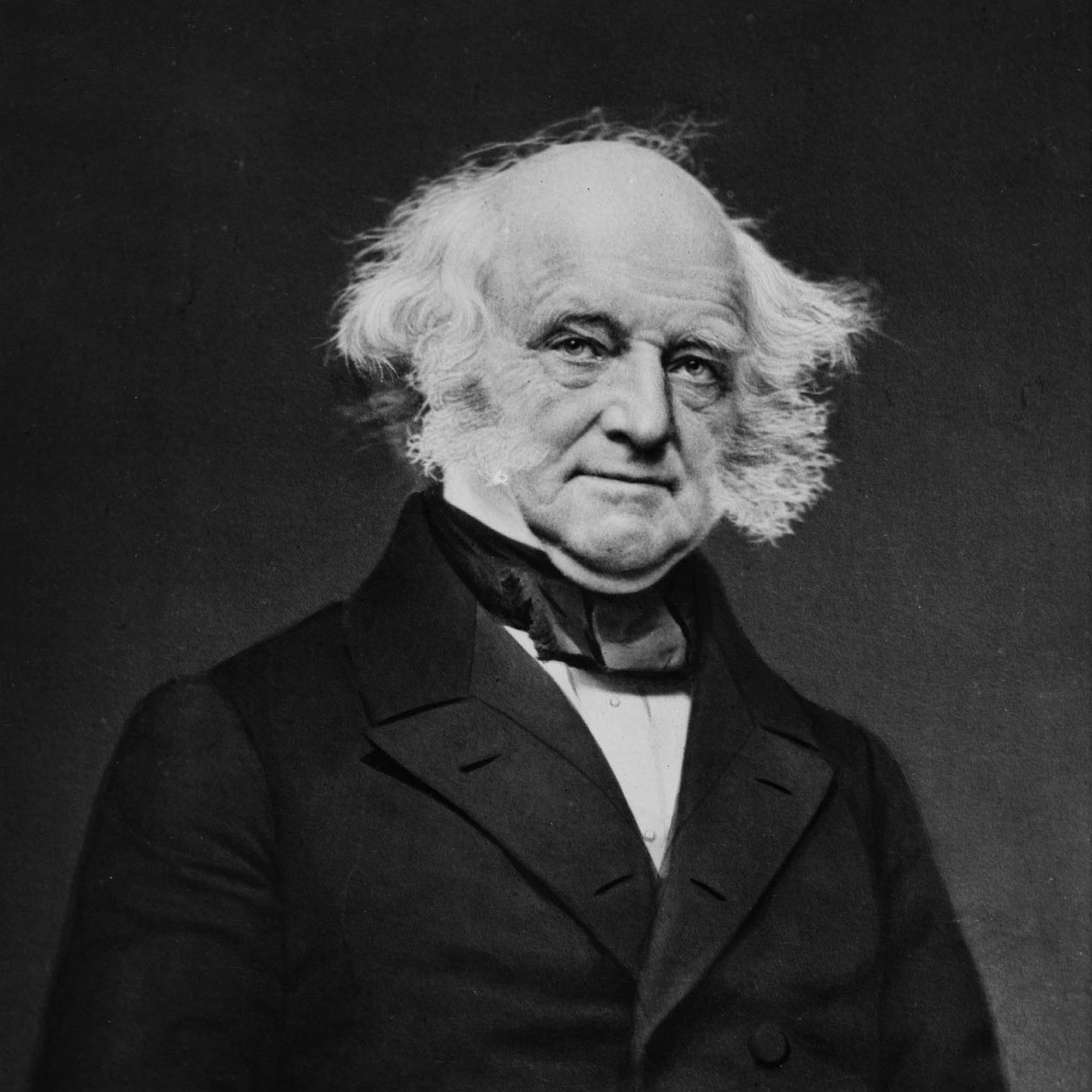 Portrait of Martin Van Buren, the 8th President of the United States