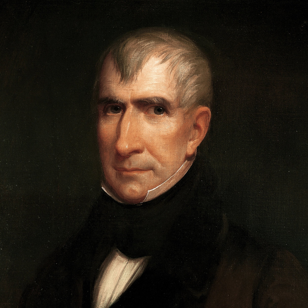 Portrait of William Henry Harrison, the 9th President of the United States
