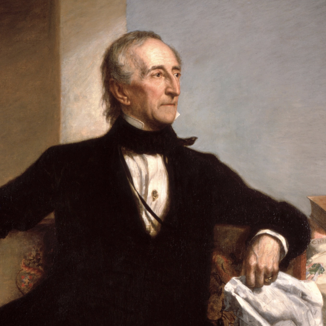 Portrait of John Tyler, the 10th President of the United States