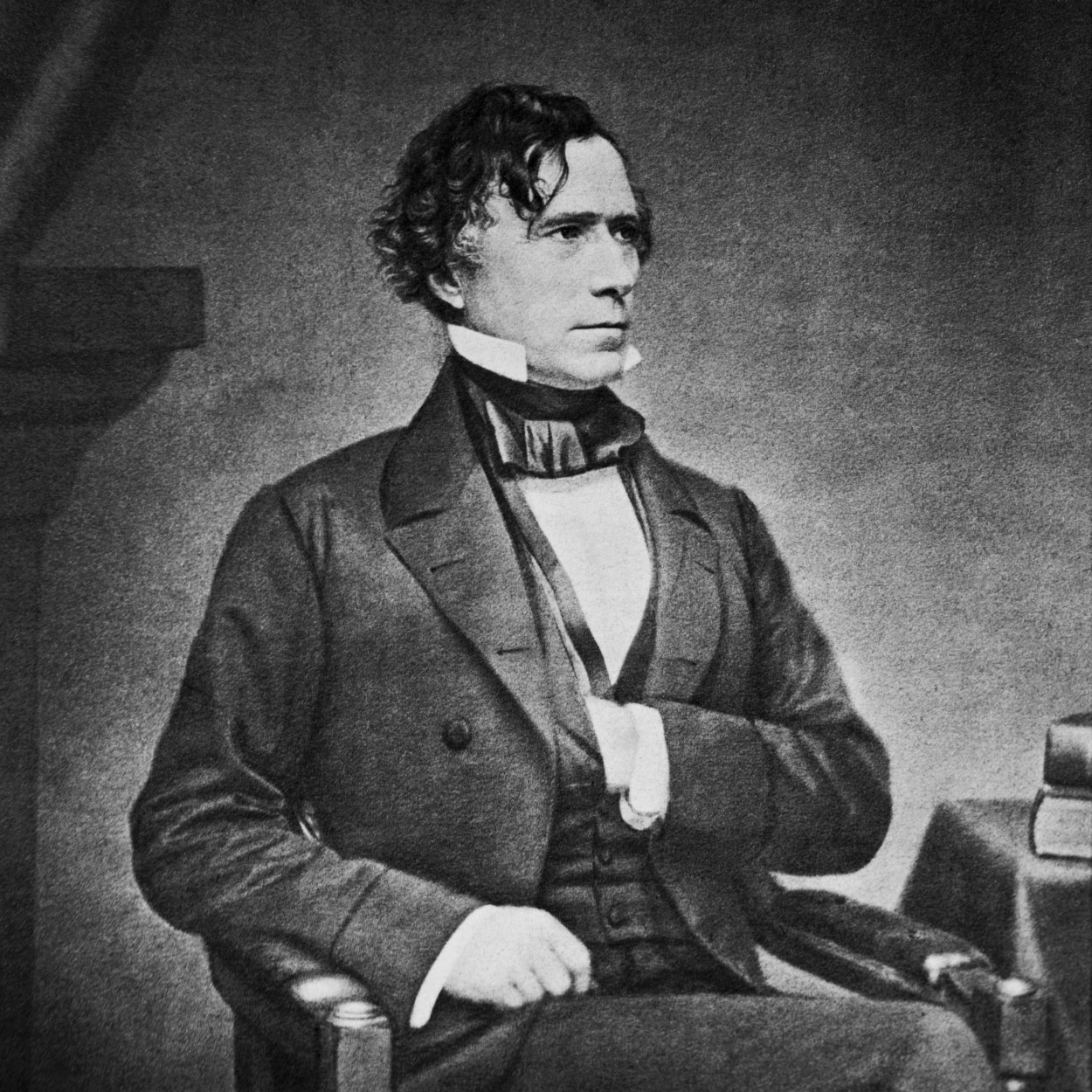 Portrait of Franklin Pierce, the 14th President of the United States