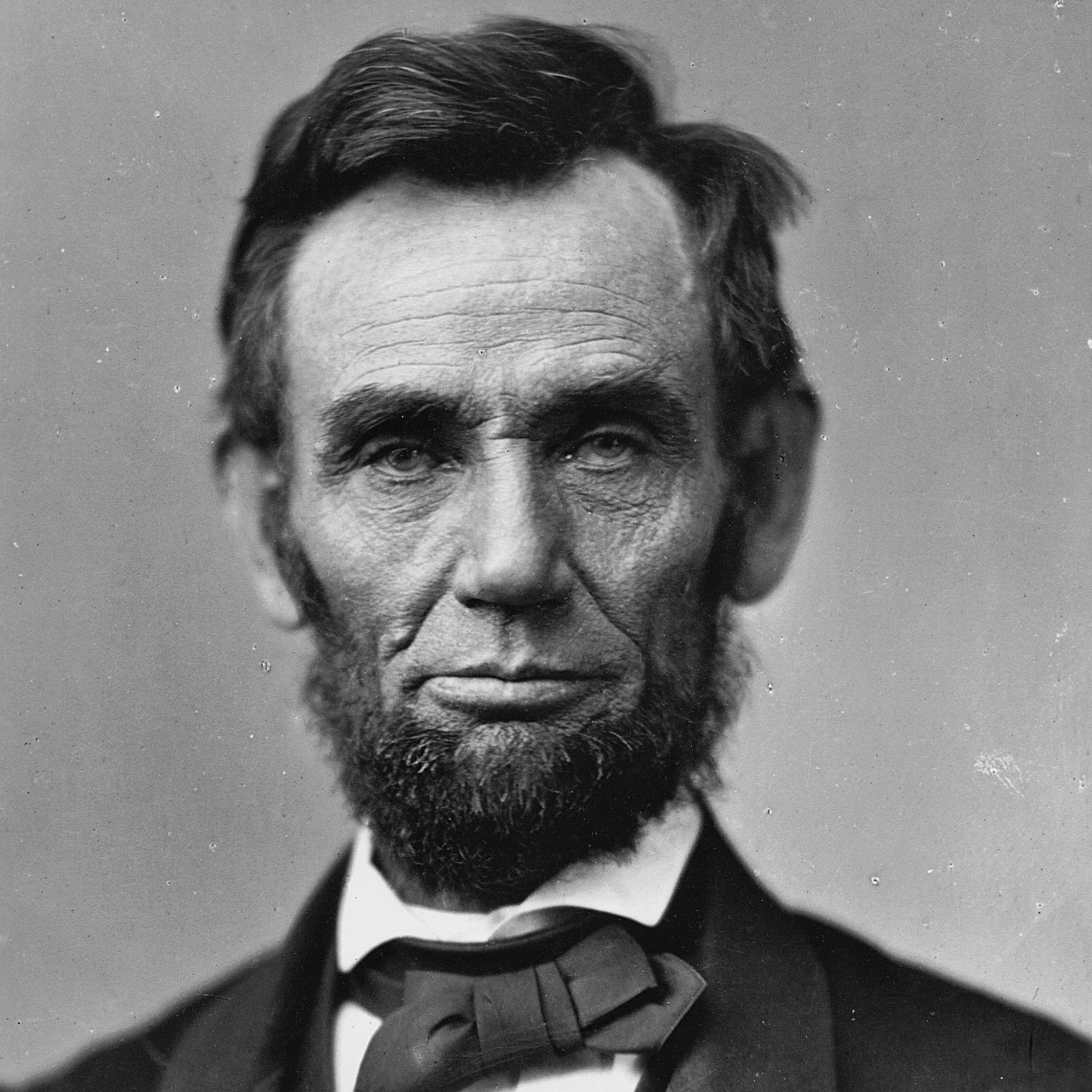 Portrait of Abraham Lincoln, the 16th President of the United States