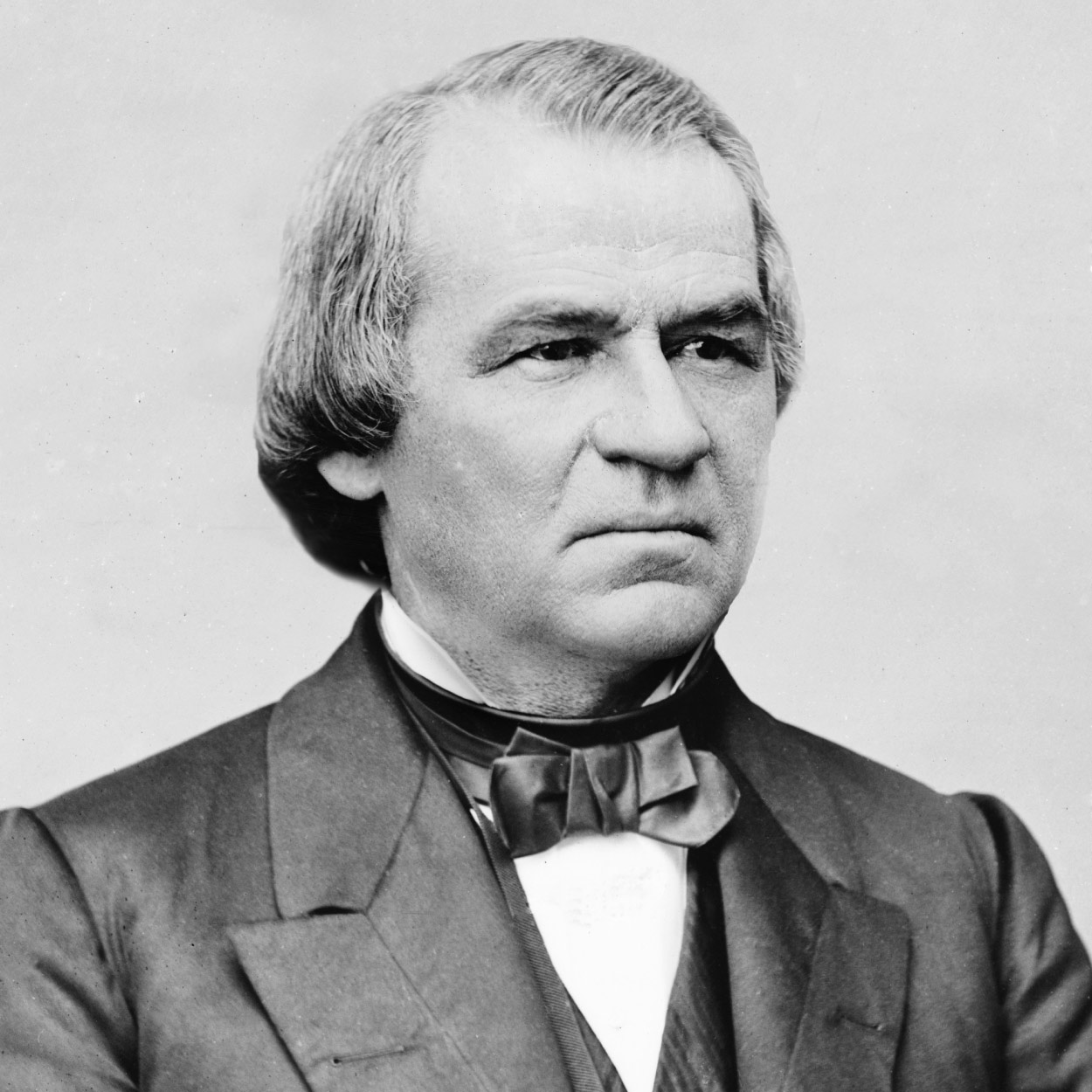 Portrait of Andrew Johnson, the 17th President of the United States