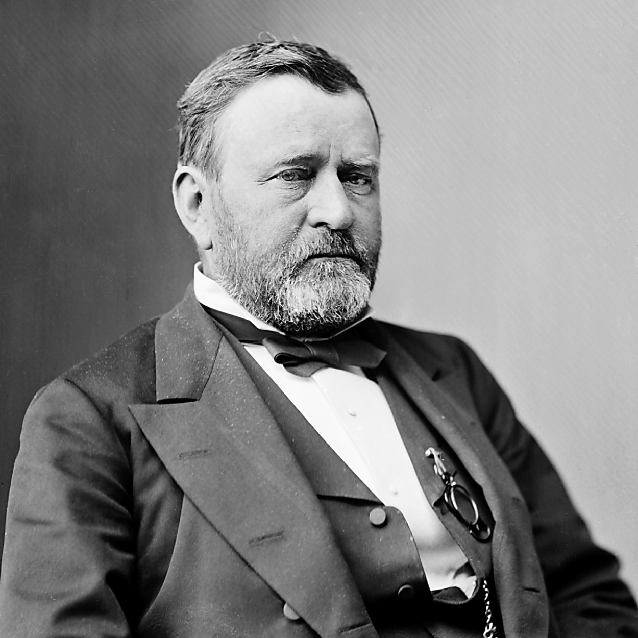 Portrait of Ulysses S. Grant, the 18th President of the United States