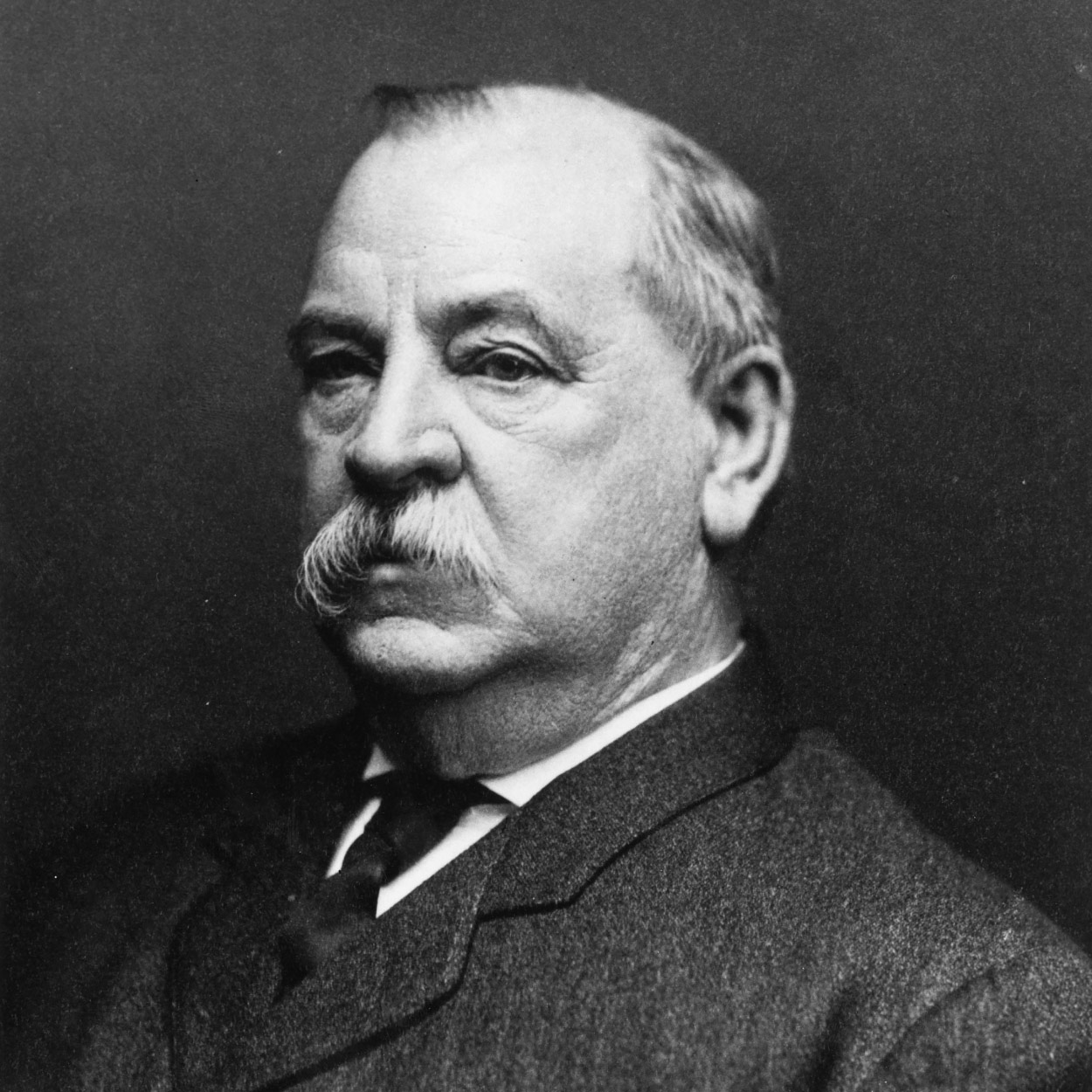 Portrait of Grover Cleveland the 22nd and 24th President of the United States