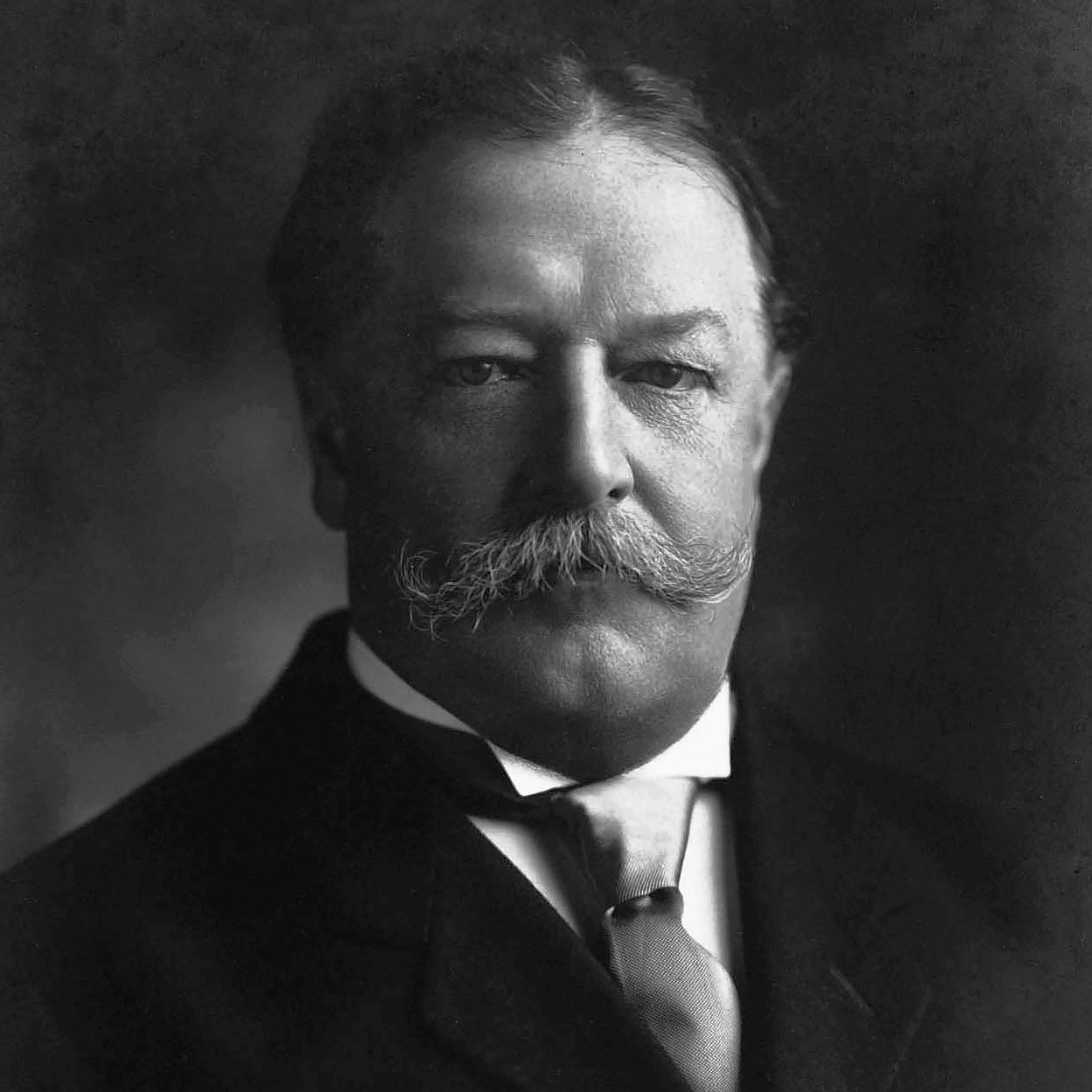 Portrait of William Howard Taft, the 27th President of the United States