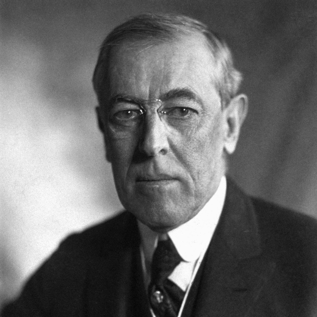 Portrait of Woodrow Wilson, the 28th President of the United States