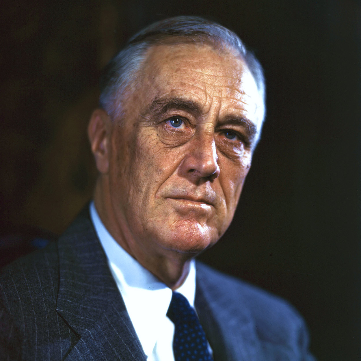 Portrait of Franklin D. Roosevelt, the 32nd President of the United States