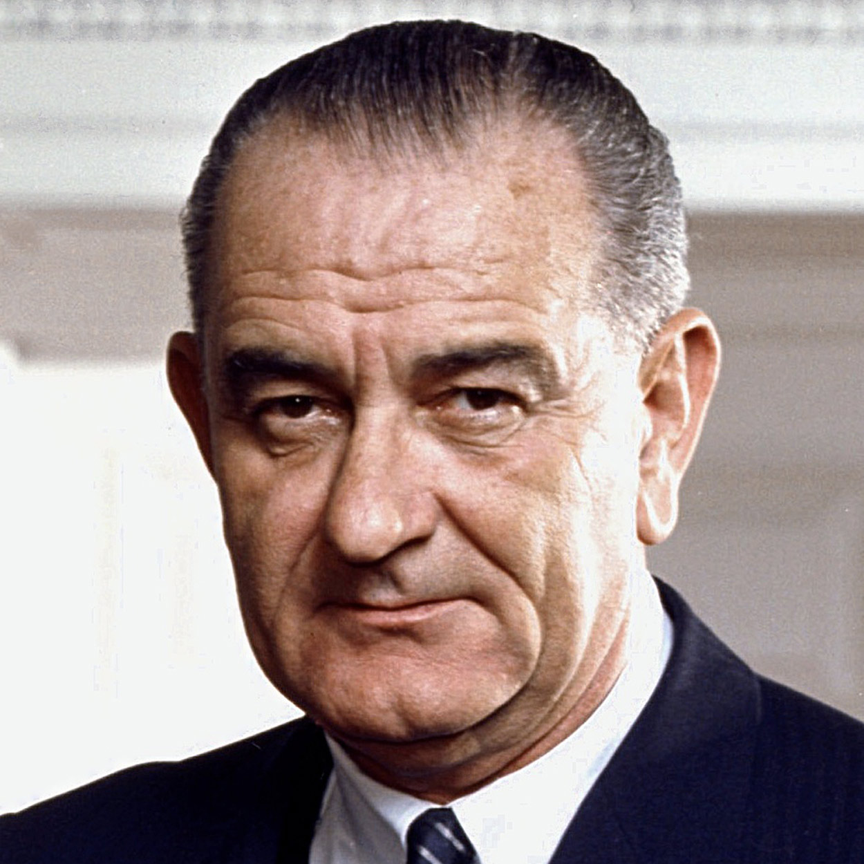 Portrait of Lyndon B. Johnson, the 36th President of the United States