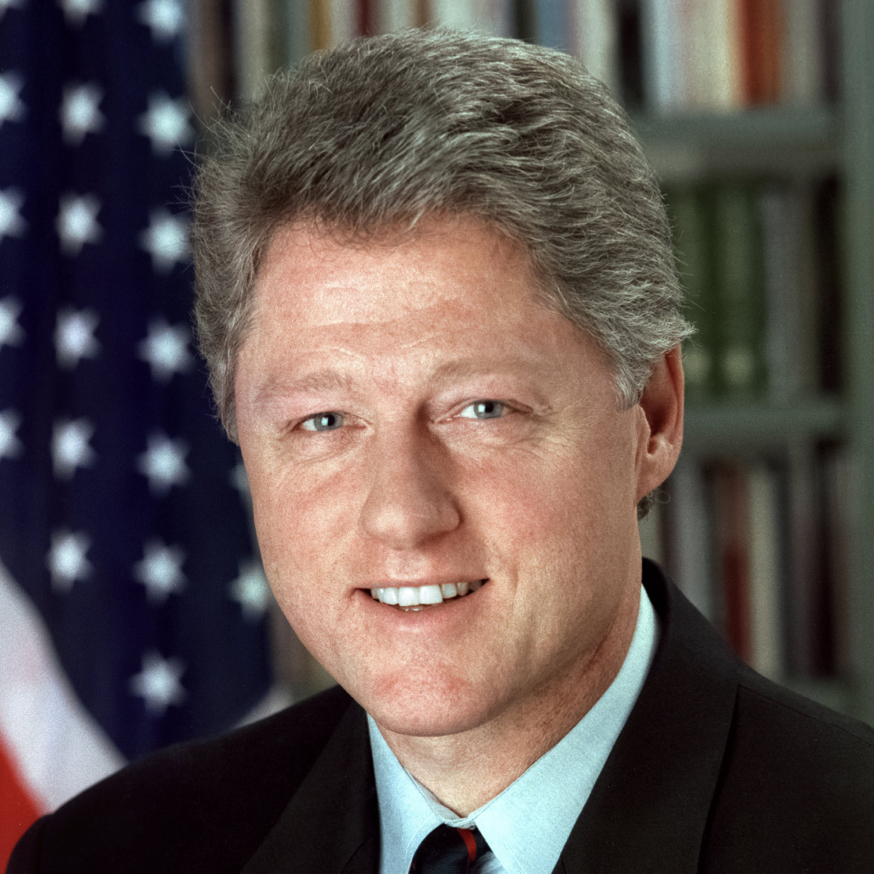 Portrait of William J. Clinton, the 42nd President of the United States